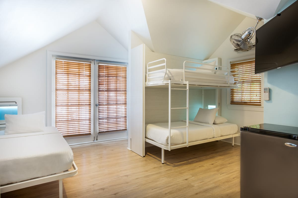NYAH 5 single beds