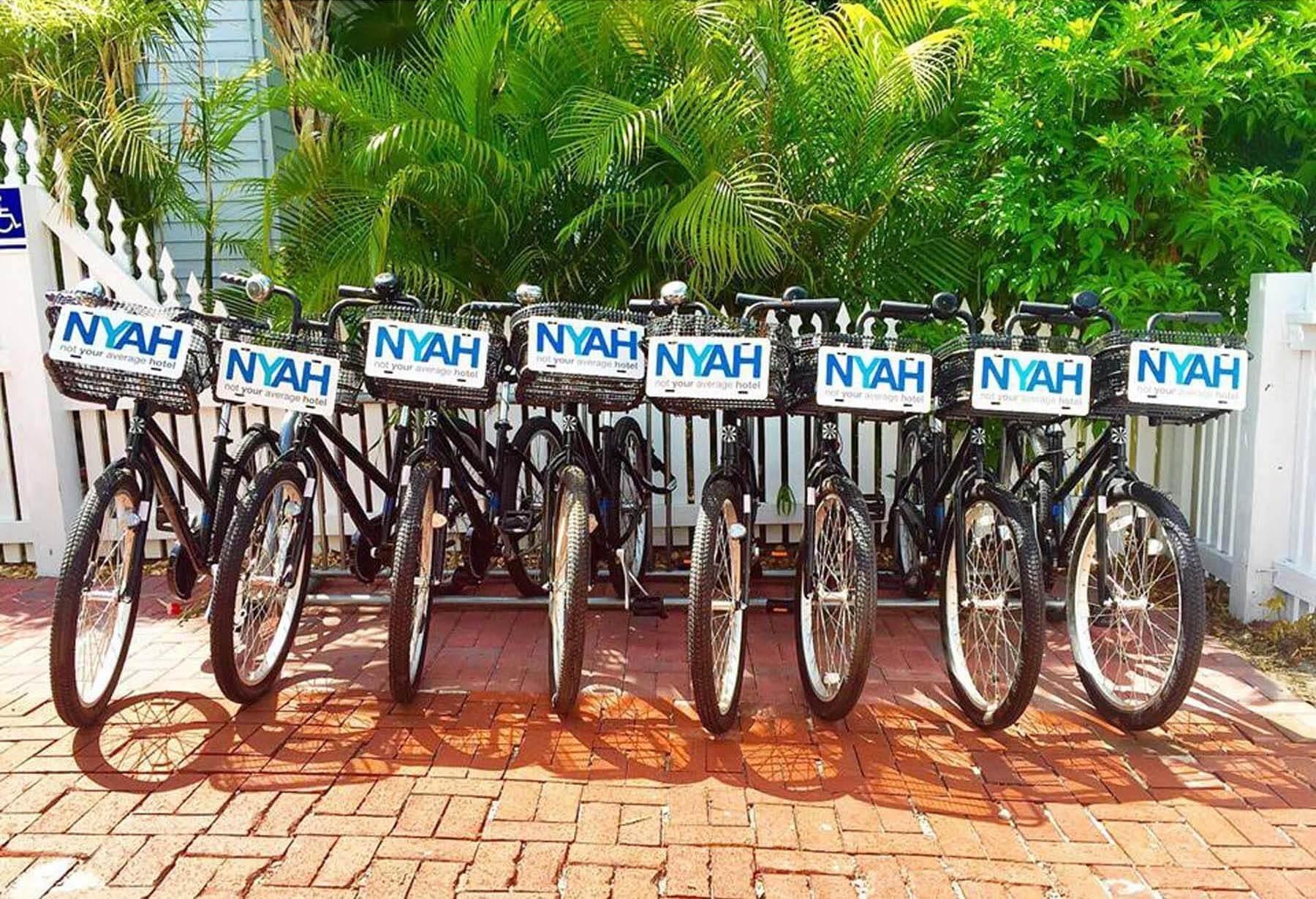 NYAH bicycles.